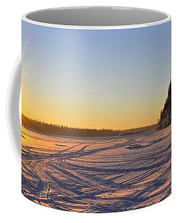 Winter Solstice Coffee Mug by Cathy Mahnke