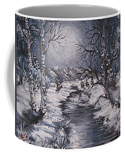 Winter Solstice Coffee Mug by Megan Walsh