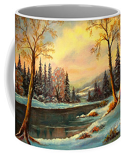 Winter Splendor Coffee Mug by Hazel Holland