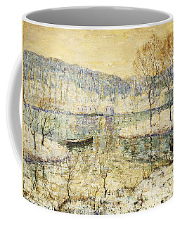 Winter Stream Coffee Mug