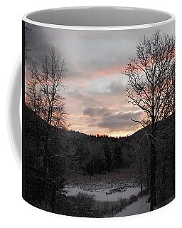 Coffee Mug featuring the photograph Winter Sunrise by Mim White