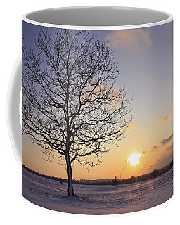 Winter Sunset Uk Coffee Mug