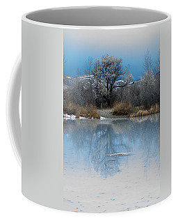 Winter Taking Hold Coffee Mug by Fran Riley
