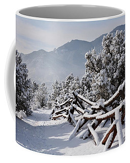 Winter Trail Beckons Coffee Mug