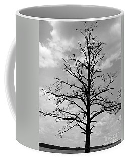 Coffee Mug featuring the photograph Winter Tree by Andrea Anderegg