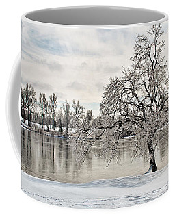 Coffee Mug featuring the photograph Winter Tree At The Park 5 by Greg Jackson