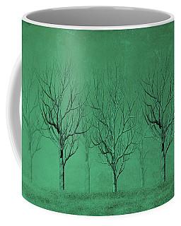 Winter Trees In The Mist Coffee Mug