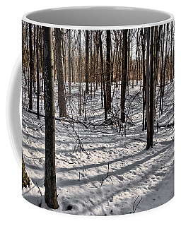 Coffee Mug featuring the photograph Winter Trees   by Lars Lentz