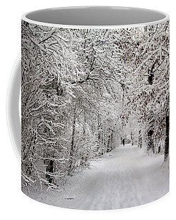 Winter Walk In Fairytale  Coffee Mug
