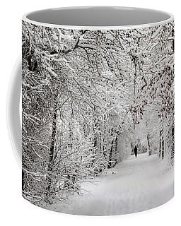 Winter Walk In Fairytale  Coffee Mug