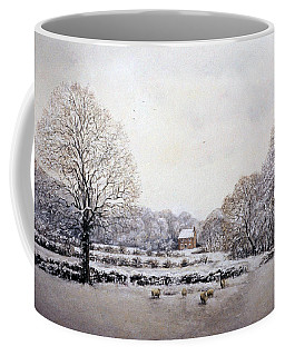 Winter Walk Coffee Mug by Rosemary Colyer