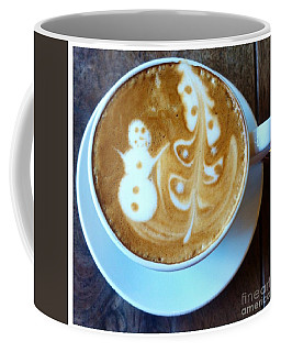 Winter Warmth Latte Coffee Mug
