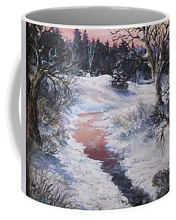 Winter Warmth Coffee Mug by Megan Walsh