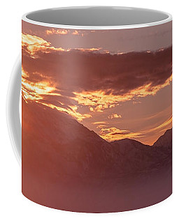 Winter Wasatch Daybreak Coffee Mug