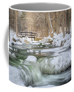 Coffee Mug featuring the photograph Winter Water by Bill Wakeley