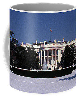 Winter White House  Coffee Mug