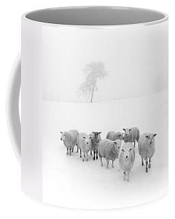 Winter Woollies Coffee Mug by Janet Burdon