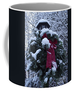 Winter Wreath Coffee Mug