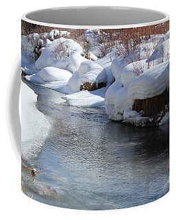 Coffee Mug featuring the photograph Winter's Blanket by Fiona Kennard