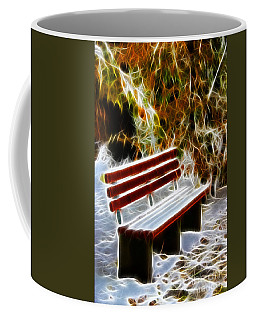 Winters Dream Coffee Mug by Mariola Bitner