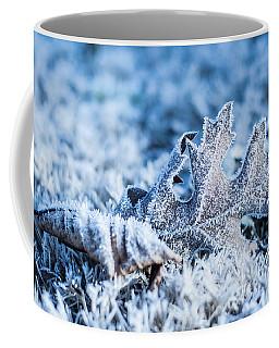 Winter's Icy Grip Coffee Mug