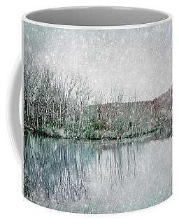 Winter's Lake Snow Coffee Mug