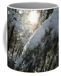 Winter's Paw Coffee Mug