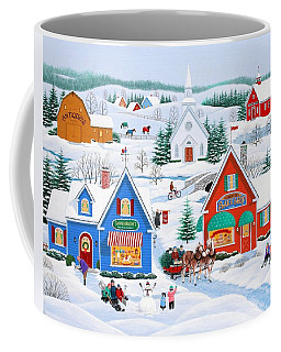 Wintertime In Sugarcreek Coffee Mug