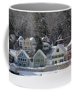 Wintery Alton Bay Nh Coffee Mug