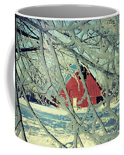 Our Frosty Barn Coffee Mug