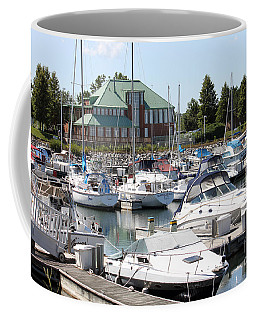Coffee Mug featuring the photograph Winthrop Harbor by Debbie Hart
