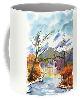 Wintry Reflections Coffee Mug