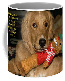 Wish For A Christmas Friend Coffee Mug