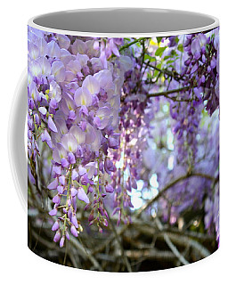 Wisteria Dream Coffee Mug by Cathy Dee Janes