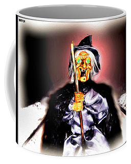 Coffee Mug featuring the digital art Witch by Daniel Janda