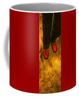 Witch Walking Coffee Mug