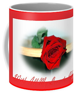 Coffee Mug featuring the photograph With All My Love To You by Oksana Semenchenko