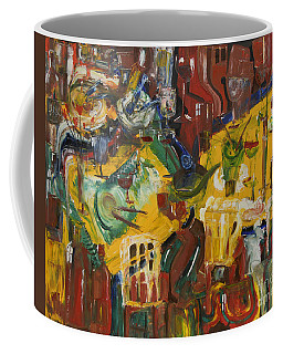 With Coffee To Follow Coffee Mug