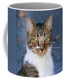 With Eyes On Coffee Mug