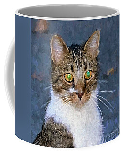 With Eyes On Coffee Mug