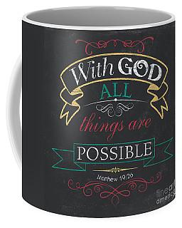 With God Coffee Mug