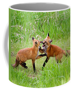 With Kit Gloves Coffee Mug