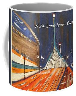 With Love From Boston Coffee Mug