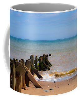 Withernsea Groynes Coffee Mug