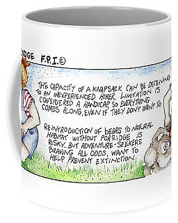 Without Porridge Fpi Cartoon Coffee Mug