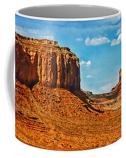 Coffee Mug featuring the photograph Witnesses Of Time by Hanny Heim