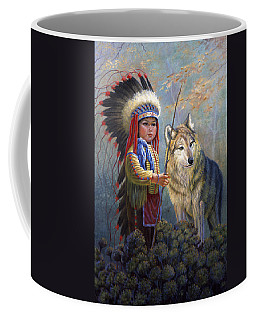 Wolf Boy Coffee Mug
