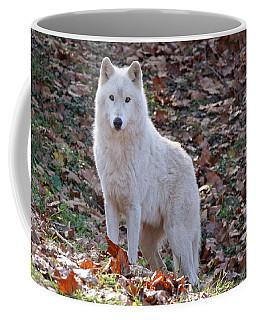 Wolf In Autumn Coffee Mug