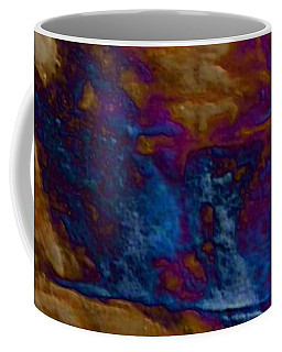 Coffee Mug featuring the painting Wolf by Mike Breau