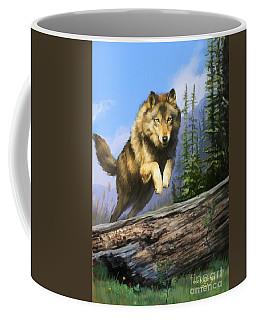 Wolf Run Coffee Mug